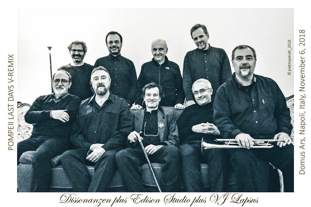 POMPEII LAST DAYS-V-REMIX/Edison Studio/Ensemble Dissonanzen