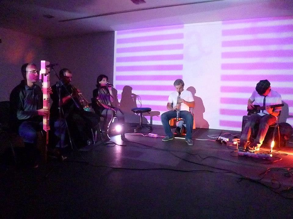 Vj Lapsus + Ensemble Dissonanzen