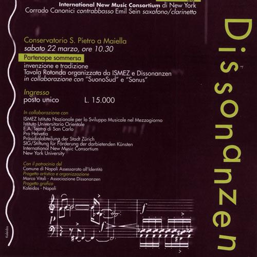 Dissonanzen '97