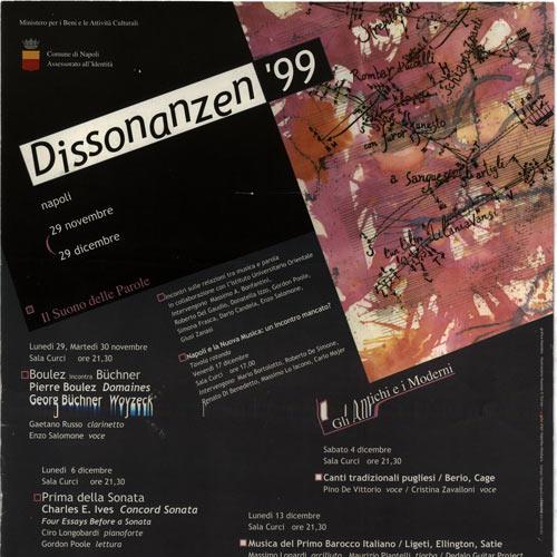 Dissonanzen '99
