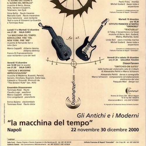 Gli Antichi e i Moderni La macchina del tempo