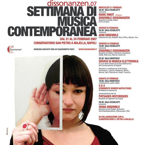 Dissonanzen.07 <br>Settimana di Musica Contemporanea