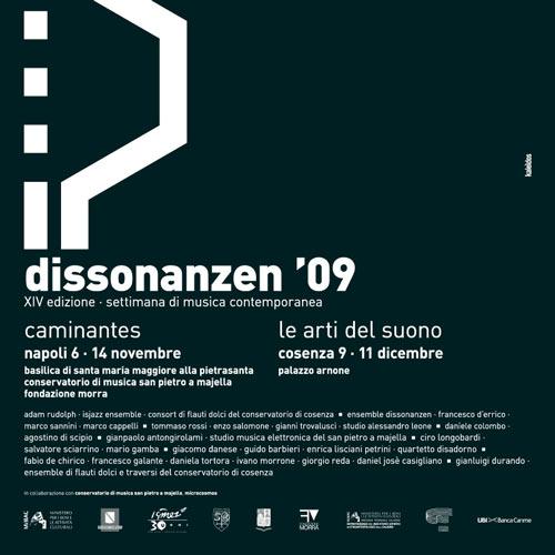 Dissonanzen.09 (XIV edizione) <br>Settimana di Musica Contemporanea