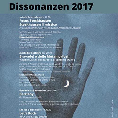DISSONANZEN 2017