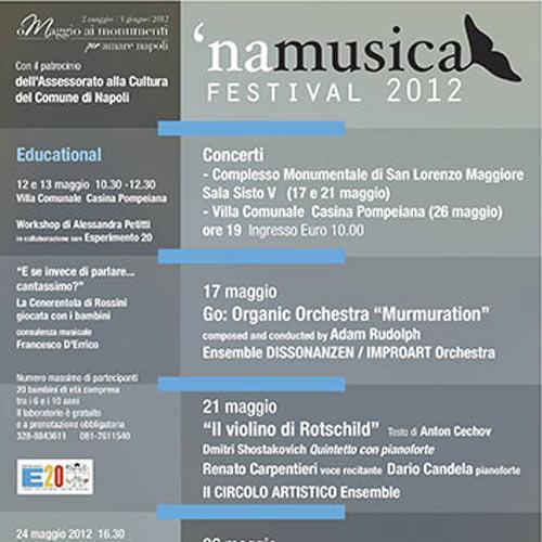 'NAMUSICAFESTIVAL 2012