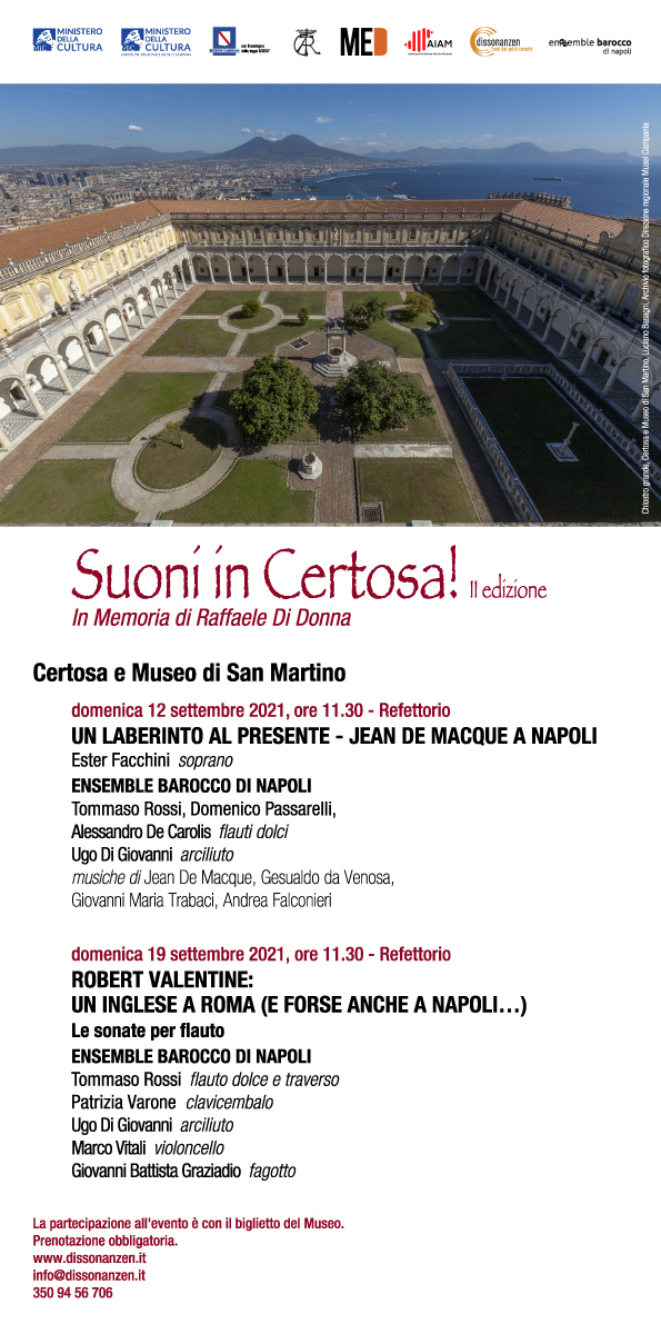 Suoni in Certosa!
